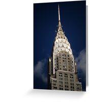 The Chrysler Building New York City Greeting Card
