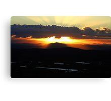 Tamborine Sunset Canvas Print