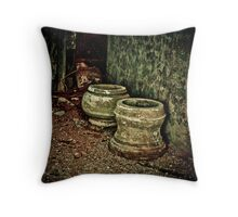 Classified Antique Throw Pillow