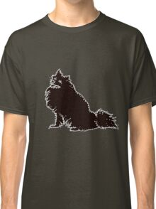 Connect The American Eskimo Dog Dots Classic T-Shirt