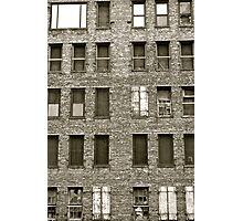 building blocks crumble Photographic Print