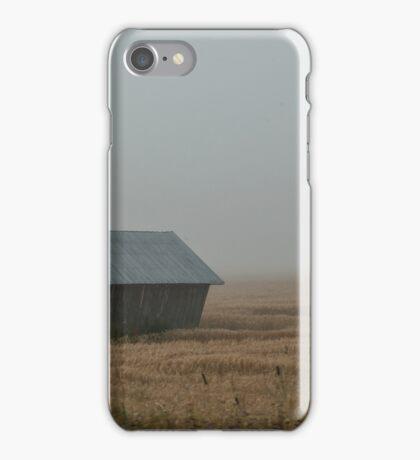 Mist Reveals Barns iPhone Case/Skin