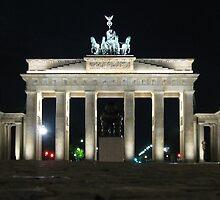 Brandenburg Gate, Berlin, Germany by Timothy Alberry