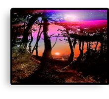 tranquil scene.... after the deluge Canvas Print