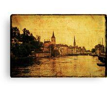 Zurich 1968 Canvas Print