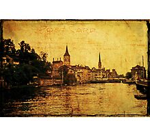 Zurich 1968 Photographic Print