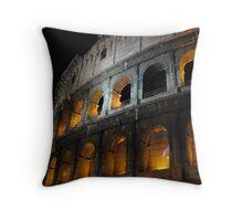 Colosseum Roma Throw Pillow