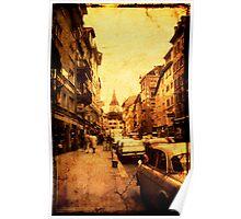 Zurich Street - 1968 Poster