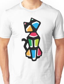 Rainbow Anigami Cat Unisex T-Shirt