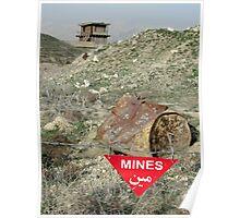 Danger! Mines! Poster