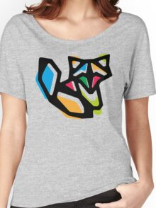Rainbow Anigami Fox Women's Relaxed Fit T-Shirt