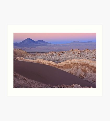 Valley of the Moon, Chile Art Print