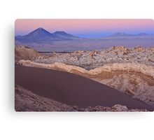 Valley of the Moon, Chile Canvas Print