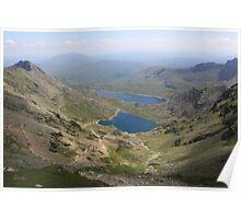 Snowdon Lakes Poster