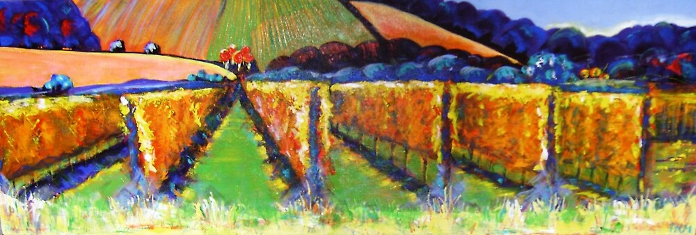 """""""Beyond the Vines""""  SOLD by Pauline Marlo-Monten"""