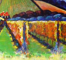 """Beyond the Vines""  SOLD by Pauline Marlo-Monten"