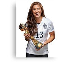 Alex Morgan - World Cup Canvas Print