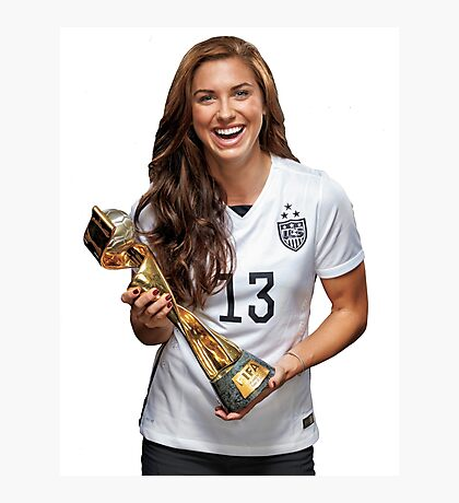 Alex Morgan - World Cup Photographic Print
