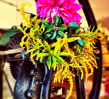 Tools and flowers II by Distincty Design