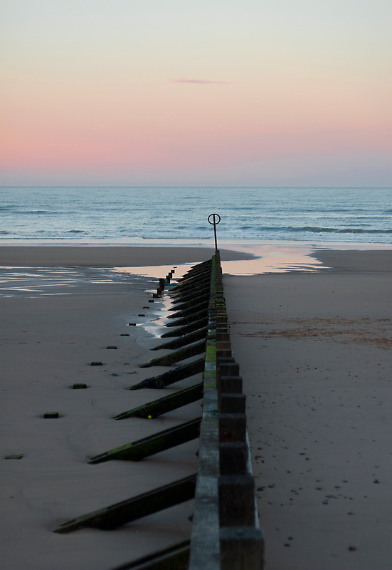 North Sea at calm by Michael Neal