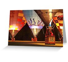 Balloon Glow Greeting Card