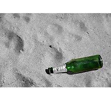 Bottle Beach Photographic Print