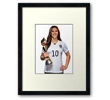 Carli Lloyd - World Cup Framed Print