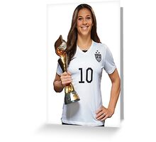 Carli Lloyd - World Cup Greeting Card