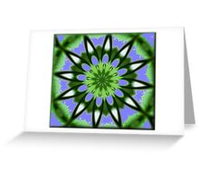 A Touch Of White. Greeting Card