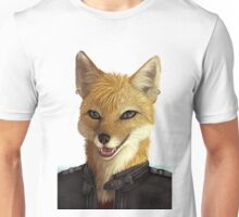 Fox in jacket Unisex T-Shirt