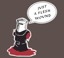 Just a flesh wound  by mingostudio