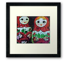 Even Our Mother Can't Tell Us Apart Framed Print
