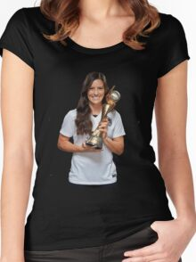 Ali Krieger - World Cup Women's Fitted Scoop T-Shirt