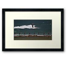 Surfing, Ageless Sport. Framed Print