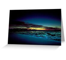 Hervey Bay in the Blue Hour Greeting Card
