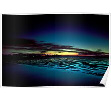 Hervey Bay in the Blue Hour Poster