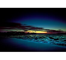 Hervey Bay in the Blue Hour Photographic Print