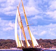 Sailing Along The Coast by JoeGeraci