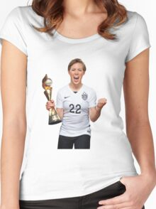 Meghan Klingenberg - World Cup Women's Fitted Scoop T-Shirt