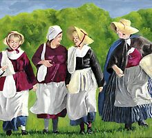 Colonial Women by Linda Bryant