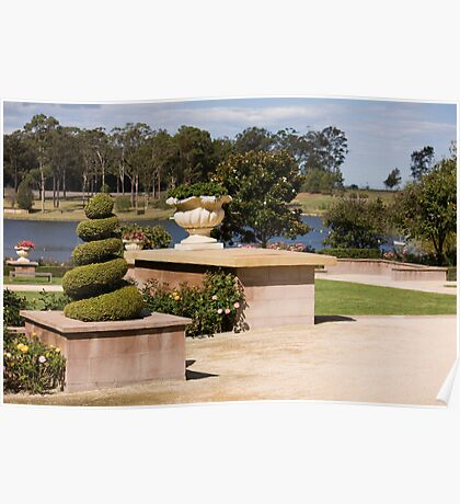 Formal Garden - Hunter Valley Gardens Series Poster