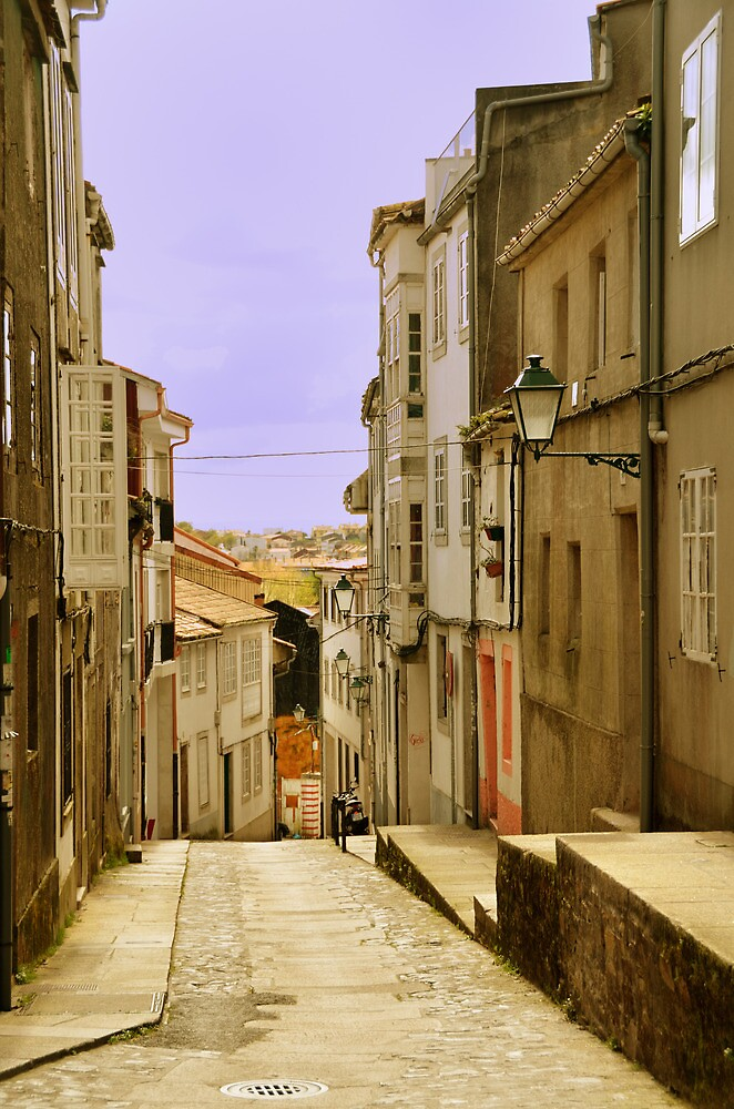 Spanish street by Stephen Frost
