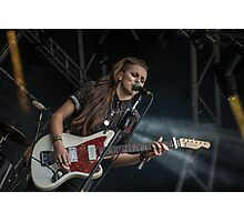PVRIS - Slam Dunk Festival Photographic Print
