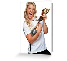 Julie Johnston - World Cup Greeting Card
