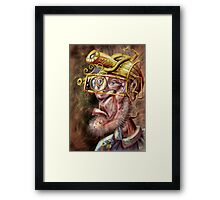 Difference Engine Engineer Framed Print