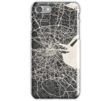 Dublin map iPhone Case/Skin