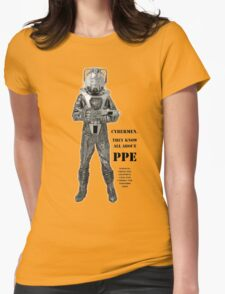 Cybermen know PPE Womens Fitted T-Shirt