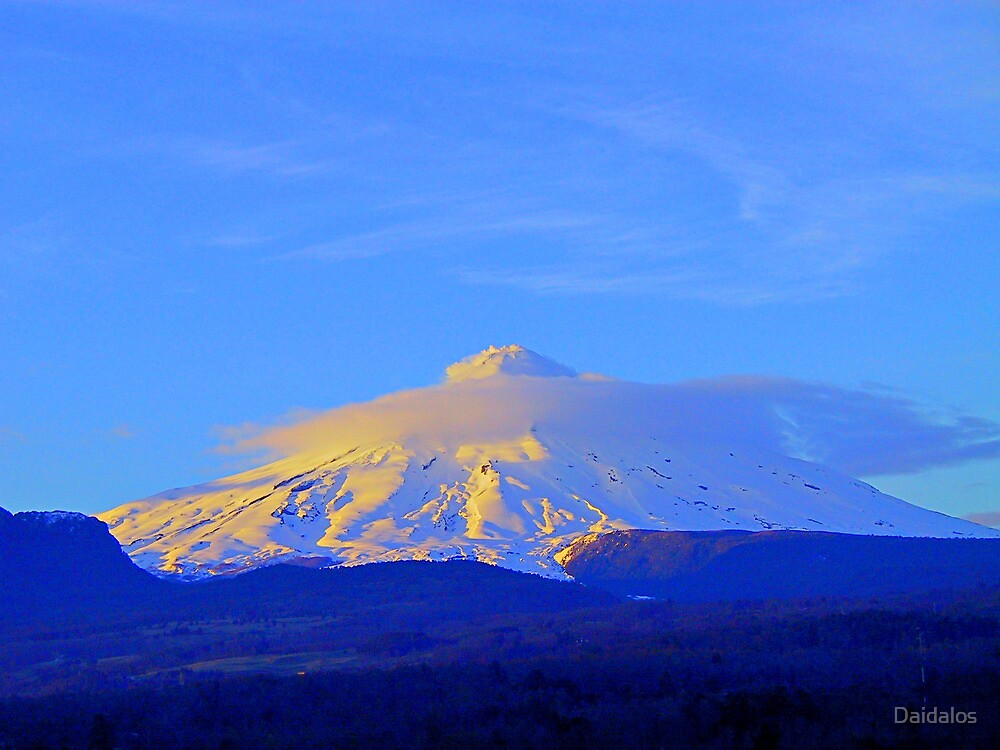 Volcano Chile by Daidalos