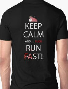 elfen lied keep calm and fuck run fast anime manga shirt T-Shirt