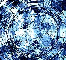 Blue Web by Aurapro Designs